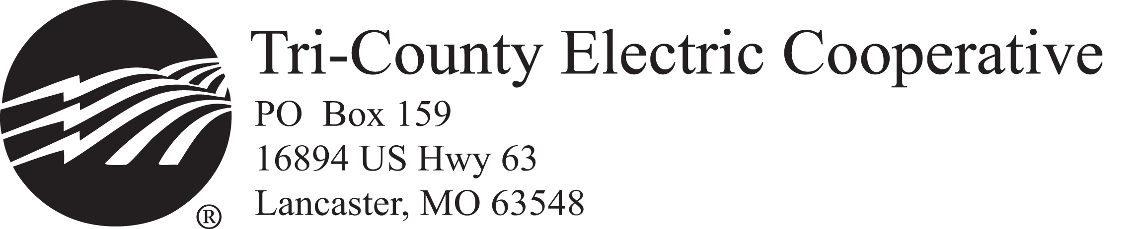 Tri-County Electric Cooperative Logo